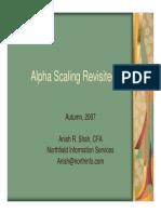 Alpha Factors Northfield