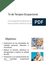 TX de Terapia Ocupacional Parkinson