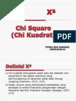 Chi Square - Fitria Nur