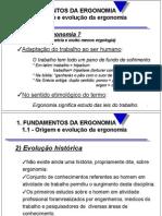 Fundamentos Da Ergonomia - Neri Dos Santos