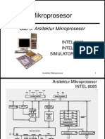 3.2 Tambahan Arsitektur Intel 8085 86