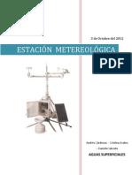 AGUAS SUPERFICIALES (1) Centro Meteorologico
