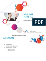 6. Permodelan Sistem Dinamik DCS