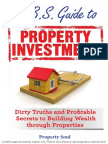 No B.S. Guide to Property Investment Contents Page and Sample Chapter