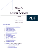 Dariel Fitzkee - Magic by Misdirection