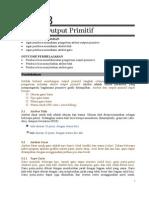 Bab 3 Atribba ut Output Primitif