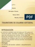 Traumatismo de Coluna..(1)