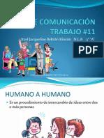 TIPOS DE COMUNICACIÓN TRABAJO