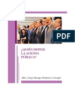 Quién define la Agenda Pública