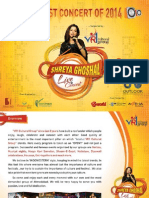 Shreya Ghosal Proposal-OnE
