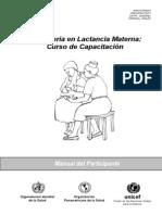 Consejeria en Lactancia Materna_OMS
