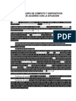 REPARA EL EQUIPO DE CÓMPUTO Y DISPOSITIVOS PERIFÉRICOS DE ACUERDO CON LA SITUACIÓN PRESENTADA