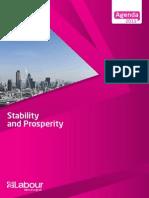 Stability & Prosperity