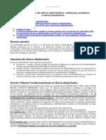 Tratamiento Juridico Del Silencio Administrativo Confusiones Problemas y Nuevas Perspectivas