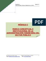 Modulo i.- Marco Concep. e Inst. Admin. Financ. Del s.p