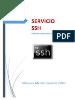 Informe Servicio SSH