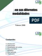 13592636 La Etica en Sus Diferentes Modalidades