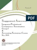 SA PCC-Group-I May 2010