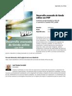 Desarrollo Avanzado de Tienda Online Con Php