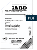 Agard Flight Test Technique Series Volume 10 Weapon Delivery Analysis and Ballistic Flight Testing