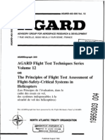 AGARD FLIGHT TEST TECHNIQUE SERIES VOLUME 12 Assessment of Flight Safety Critical Systems in Helicopters