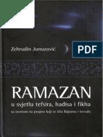 RAMAZAN u svjetlu tefsira hadisa i fikha