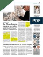 La Alhambra Aun Desvela Secretos