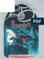 Ad&d 2nd Edition - Ravenloft Ravenloft 25th Anniversary