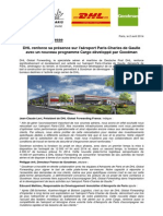 Aeroport.paris CDG Nouveau.programme.cargo