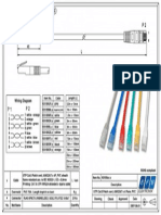 K8100xx.x - Cat 6 UTP Patch Cable