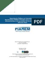 _0610 2010_ Experiencia Chilena en Concesiones y APP Informe Final _fin14a