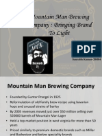 Mountain Man Beer