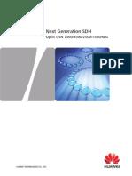 Next Generation SDH Optix