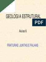 Aula VI_Fraturas=Juntas e Falhas