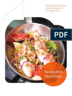 World Menu Report Sustainable Kitchens