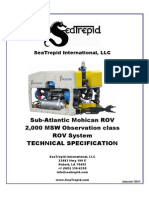 SeaTrepid Mohican Technical Specifications 20100210