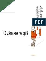 Curs - O Vanzare Reusita