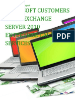 Microsoft Customers using Exchange Server 2010 Enterprise CAL with services - Sales Intelligence™ Report