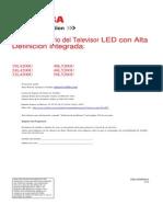 50L5200U Toshiba Tv