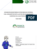 Integrated Monitoring System Reduces Internal Fuel Consumption With 12% for One of the Biggest European Oil & Gas Producers - Case Study