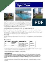 Room Information Leaflet