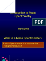 Intro to Mass Spec