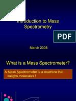 Intro to Mass Spec