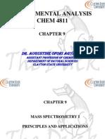 Chapter 9 Mass Spec 1