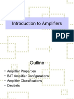 6 Introduction to Amplifiers