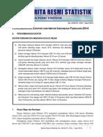 Berita Resmi BPS Bulan Pebruari 2014