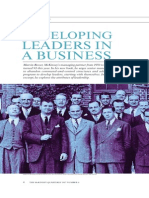 Developing Leaders in a Business
