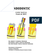 Endodontic Clinic Manual 2015_1