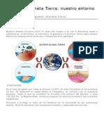 Tema 1 Planeta Tierra Nuestro Entorno CTMA