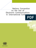 اتفاقية الأمم المتحدة للخطابات الالكترونية انكليزي